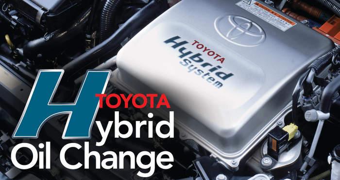 Toyota Prius Oil Change