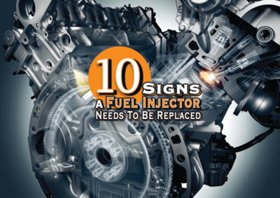 Fuel Injector Replacement Signs