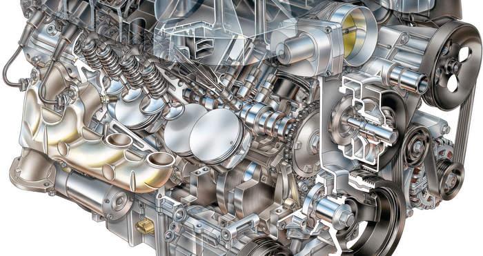 Chevrolet Camaro Coupe engine