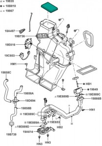 Ford escape hybrid components