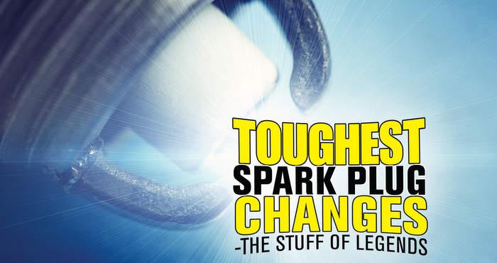 Toughest spark plug jobs