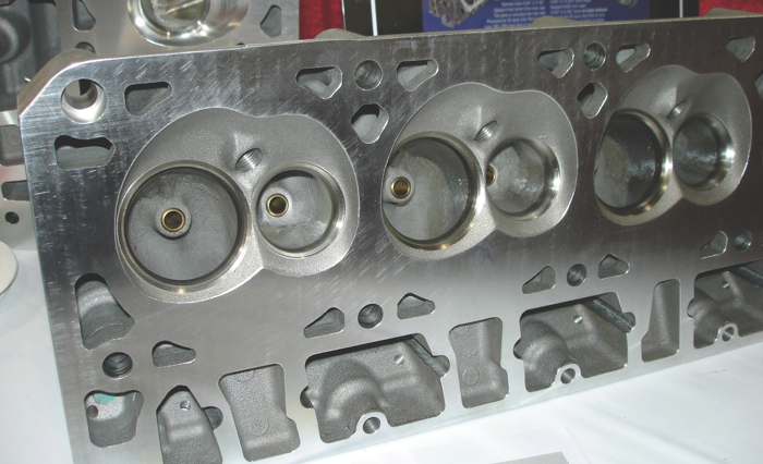 """""""As-cast"""" heads can flow just as well as heads with CNC machined ports. Castings, however, typically have somewhat looser manufacturing tolerances than CNC heads."""