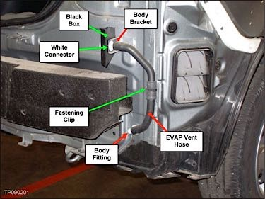 Nissan Versa Tech Tip: P0442, P0448, P0455 Or P0456