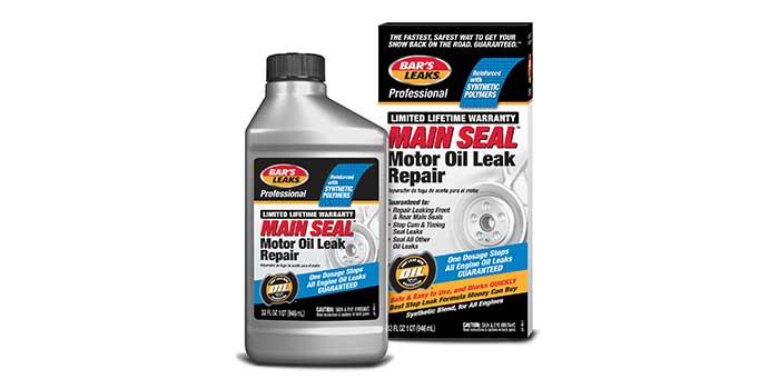 Oil Leak Repair >> Bar S Leaks Offers Professional Main Seal Motor Oil Leak Repair