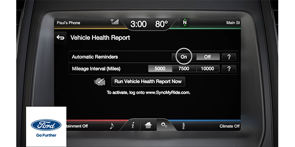 Ford Tech Tip: SYNC GEN 1 And GEN 2 Vehicle Health Report
