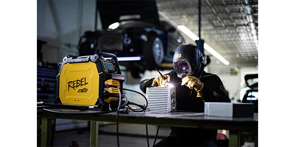 Esab Offers All Process Portable Inverter Based Welding System Underhoodservice