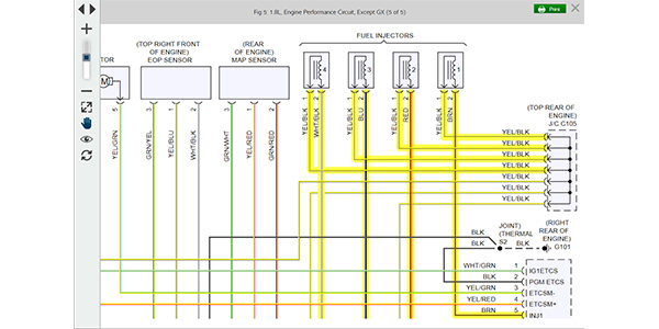 Mitchell 1 Enhances Wiring Diagrams Prodemand Software