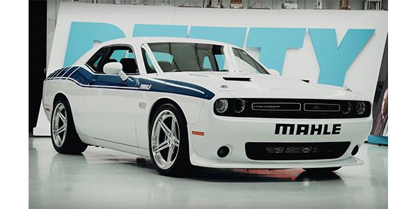 Latest MAHLE Aftermarket Video Unveils 1,100-HP Hemi Dodge