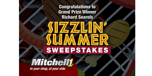 Mitchell 1 Announces Grand Prize Winner Of The Sizzlin