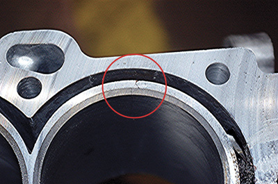 Cracked Engine Block >> Cylinder Block Cracks On 4 6l Cadillac Engines