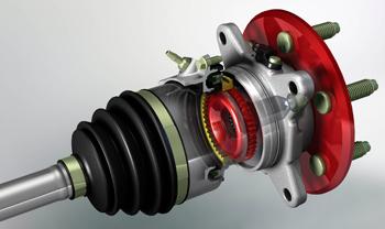 4 Wheel Drive System KIA Sportage Hub Service Info