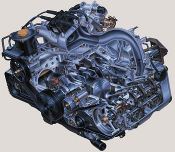 Subaru Boxer Engine >> Tech Feature The Subaru Boxer Engine A Balance Of Power